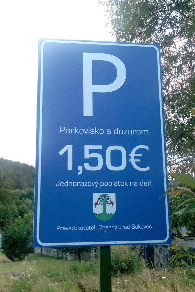 parkovisko Bukovec