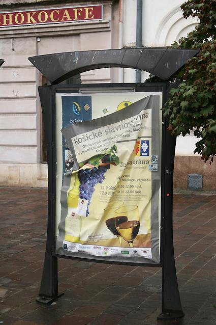 Tabula prevádzkovaná mestom Košice na Hlavnej 8